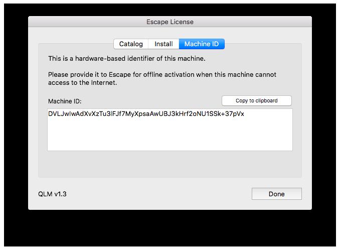 Adding & Removing License Keys